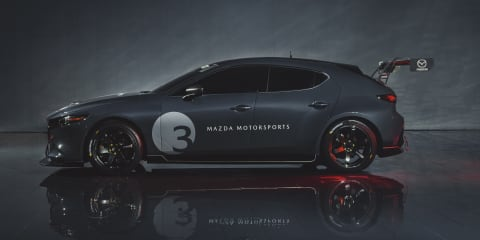 Turbo Mazda3 officially teased, but no details given