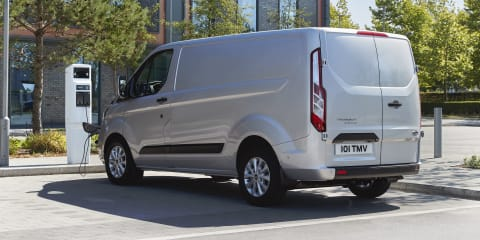 2020 Ford Transit Custom Plug-in Hybrid detailed, not for Oz