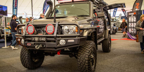 The 79 Series LandCruisers of the Melbourne 4X4 Show