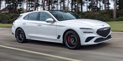 2022 Genesis G70 Shooting Brake wagon tipped to outsell sedan in Europe