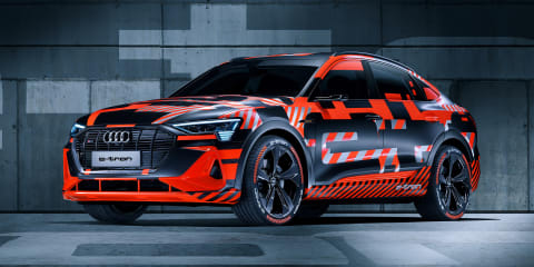 Audi e-tron Sportback debuts in Geneva