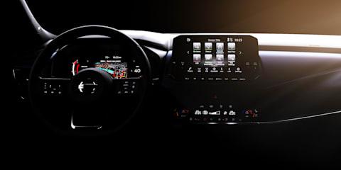 2021 Nissan Qashqai interior teased: Small SUV to score big tech upgrade