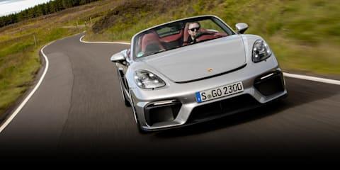 2019 Porsche 718 Boxster Spyder review