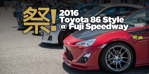2016 Toyota 86 Style at Fuji Speedway