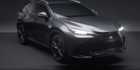 2022 Lexus NX revealed in leaked promotional video