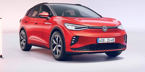 2021 Volkswagen ID.4 GTX透露:性能电动SUV突出的高尔夫r