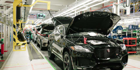 Jaguar Land Rover: Slow sales force two-week plant closure