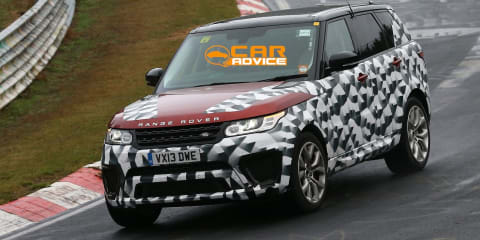 Range Rover Sport 'R-S' spied lapping the Ring