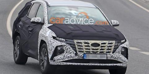 2021 Hyundai Tucson spied again