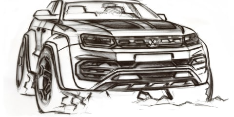Volkswagen considering Ford Ranger Raptor rival: off-road Amarok W580