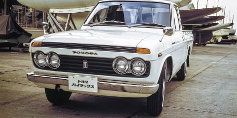 The changing face of Toyota HiLux through the ages