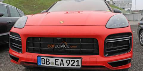 2020 Porsche Cayenne Turbo S E-Hybrid 'GT' Coupe spied