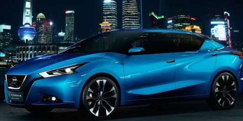 Nissan Lannia concept sedan aimed at young Chinese buyers