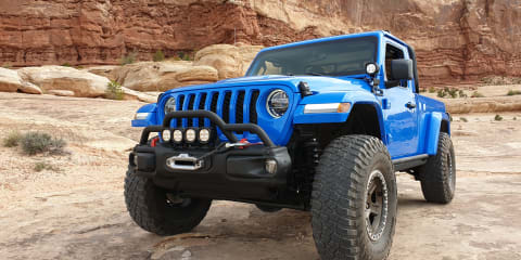 On the ground at the 53rd Easter Jeep Safari