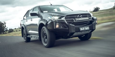 2021 Mazda BT-50 Thunder price and specs