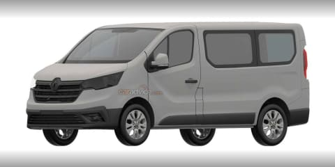 2022 Renault Trafic facelift leaked in patent filing