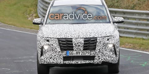 2021 Hyundai Tucson spied once more
