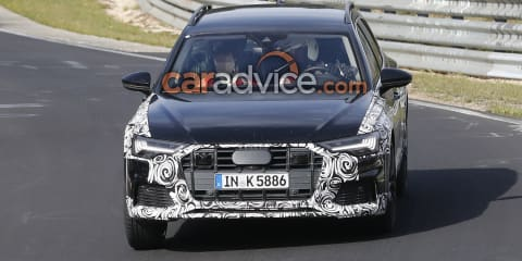 2019 Audi A6 Allroad spied at the Nurburgring