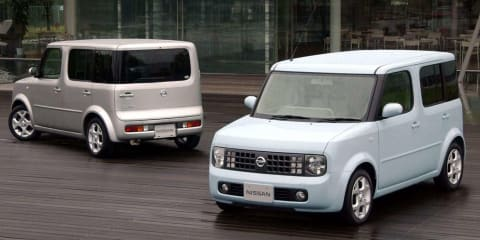 Nissan Cube officially ruled out for Australia
