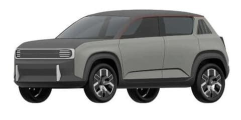 Renault 4 electric SUV leaked in new patent filings