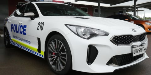 Kia Stinger joins NT Police fleet