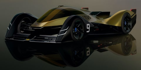 Lotus E-R9: British brand designs all-electric race car of the future