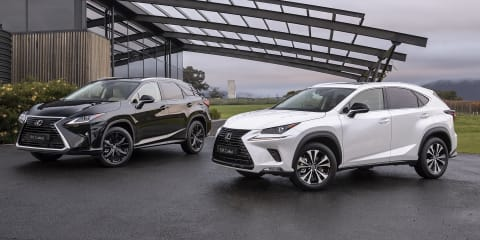 Lexus launches NX & RX Crafted editions