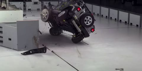 Jeep responds to footage of Wrangler tipping over in US safety tests