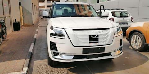 2020 Nissan Patrol leaked