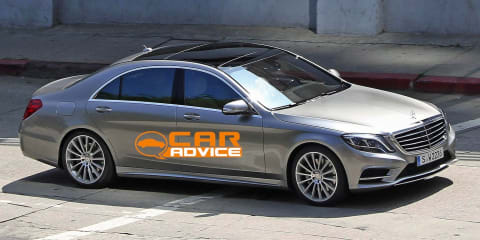 Mercedes-Benz S-Class exterior revealed in spy shots