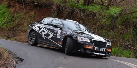 CarAdvice SRT8 racer takes on Targa Adelaide
