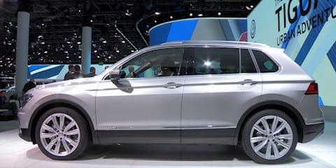 2016 Volkswagen Tiguan Walkaround : 2015 Frankfurt Motor Show
