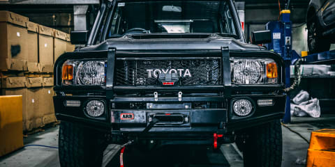 Buying and modifying a Toyota LandCruiser 79 Series: Part 2