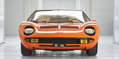 Lamborghini restores Miura from The Italian Job