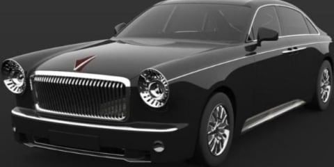 Hongqi L5 rendered