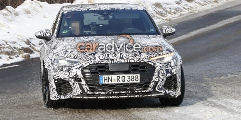 2021 Audi RS3 Sportback and sedan spied