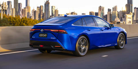 2021 Toyota Mirai FCEV first drive review
