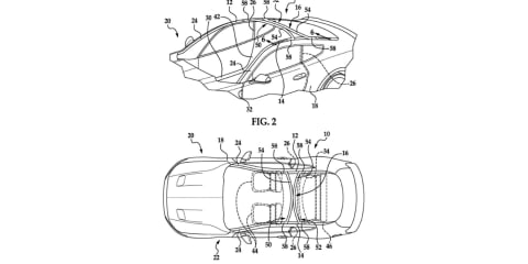Ford patents canopy-style windscreen