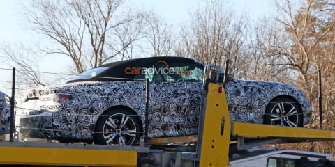 2020 BMW 4 Series Convertible spied
