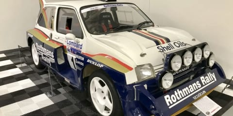 McRae MG Metro Group B rally car goes to auction in Tasmania