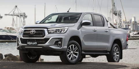 2019 Toyota HiLux gets AEB across the range