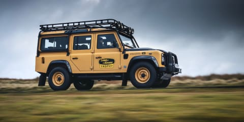 2021 Land Rover Defender Works V8 Trophy unveiled: Classic Defender returns as V8-powered hero