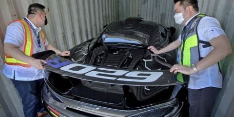 McLaren passed off as Porsche seized in Filipino tax sting
