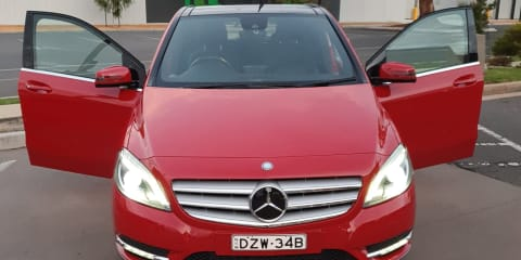 2013 Mercedes-Benz B200 CDI Be review