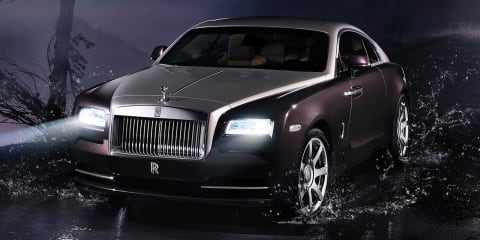 Rolls-Royce Wraith convertible: door open for smaller Drophead