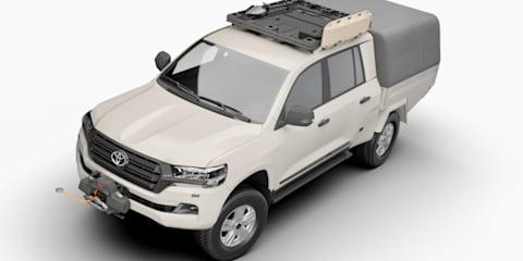 Australian engineers help create armoured Toyota LandCruiser 200 Series ute