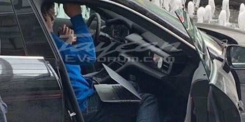 2020 Porsche Taycan interior leaked