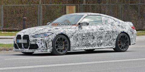 2022 BMW M4 CSL spied – UPDATE: See and hear the CSL in a new video