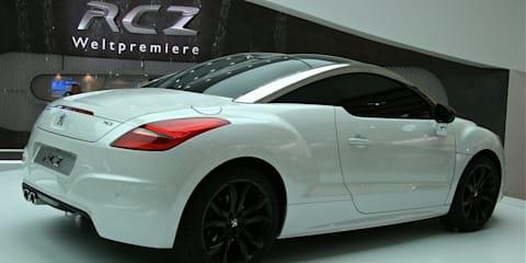 Peugeot RCZ at Frankfurt Motor Show