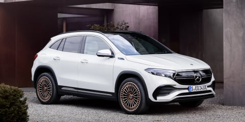 2021 Mercedes-Benz EQA unveiled, Australian launch mid-2021